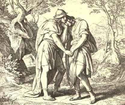 The love of Jonathan and David
